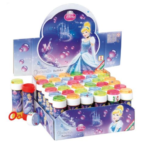 36 x Cinderella Disney Princess - Puzzle Maze Tub Bubbles 60ml Wholesale Bulk Buy